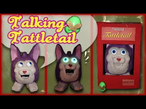 How to Make: Talking Tattletail Puppet