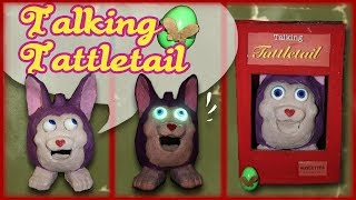 How to Make: Talking Tattletail Puppet