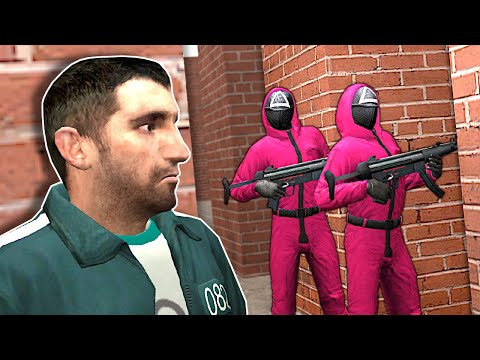 I Must Escape a SQUID GAME MAZE! – Garry's Mod Gameplay