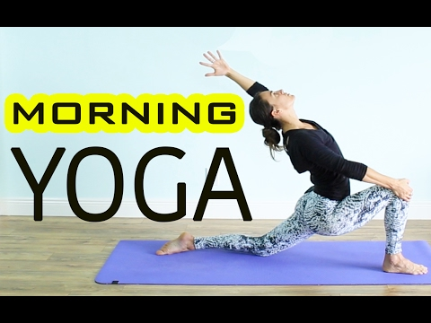 1-HOUR INVIGORATING MORNING YOGA FLOW - Full Body Workout- All Levels
