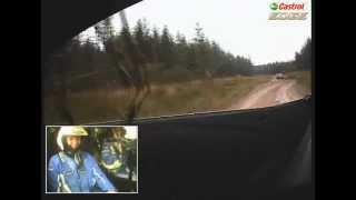 On-board Cam - Mitfahrt Ford Fiesta WRC 2012 mit Petter Solberg