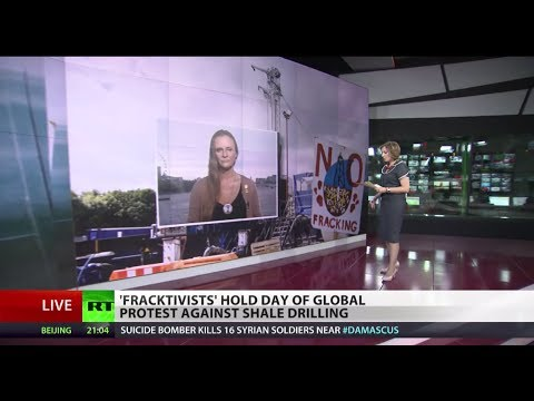 Frackdown Day: Worldwide protest to end shale gas extraction