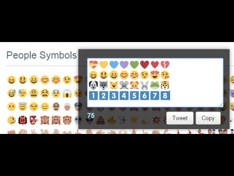 How to add Emojis to Twitter