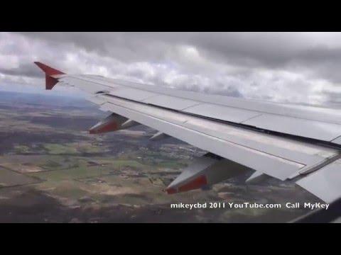 A321 Take Off  VH-VWY Melbourne Darwin  Landing Lightning Strike  movie 19FEB11 Airbus