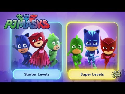 PJ Masks: Moonlight Heroes | SUPER LEVELS Gameplay! By Entertainment One