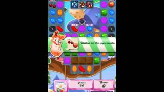 Candy crush saga level 1673 - how to pass