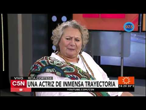 C5N  Viva la tarde: Entrevista a Rita Cortese
