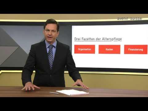 Neue Massstäbe für die Alterspflege in der Schweiz - Avenir Suisse