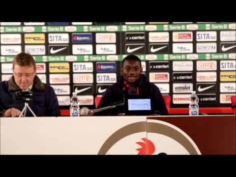 Calcio. Conferenza stampa del difensore Isaac Donkor - 26/01/2016