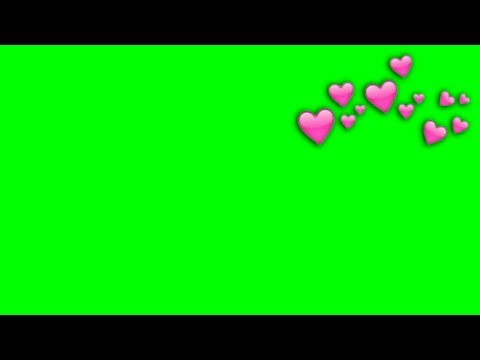 Tumblr heart 😍 overlay GREEN SCREENS !!!
