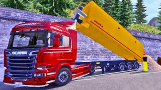 Carreta Caçamba - Euro Truck Simulator 2