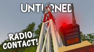 Unturned | Radio Contact! (Survival Roleplay #4)