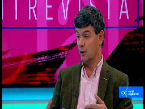 Entrevista con Claudia Palacios- Enrique Serrano, autor '¿Por qué fracasa Colombia?'