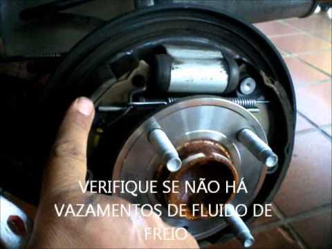 OICARLAO. Regulagem do freio de mão com sistema de catraca ...