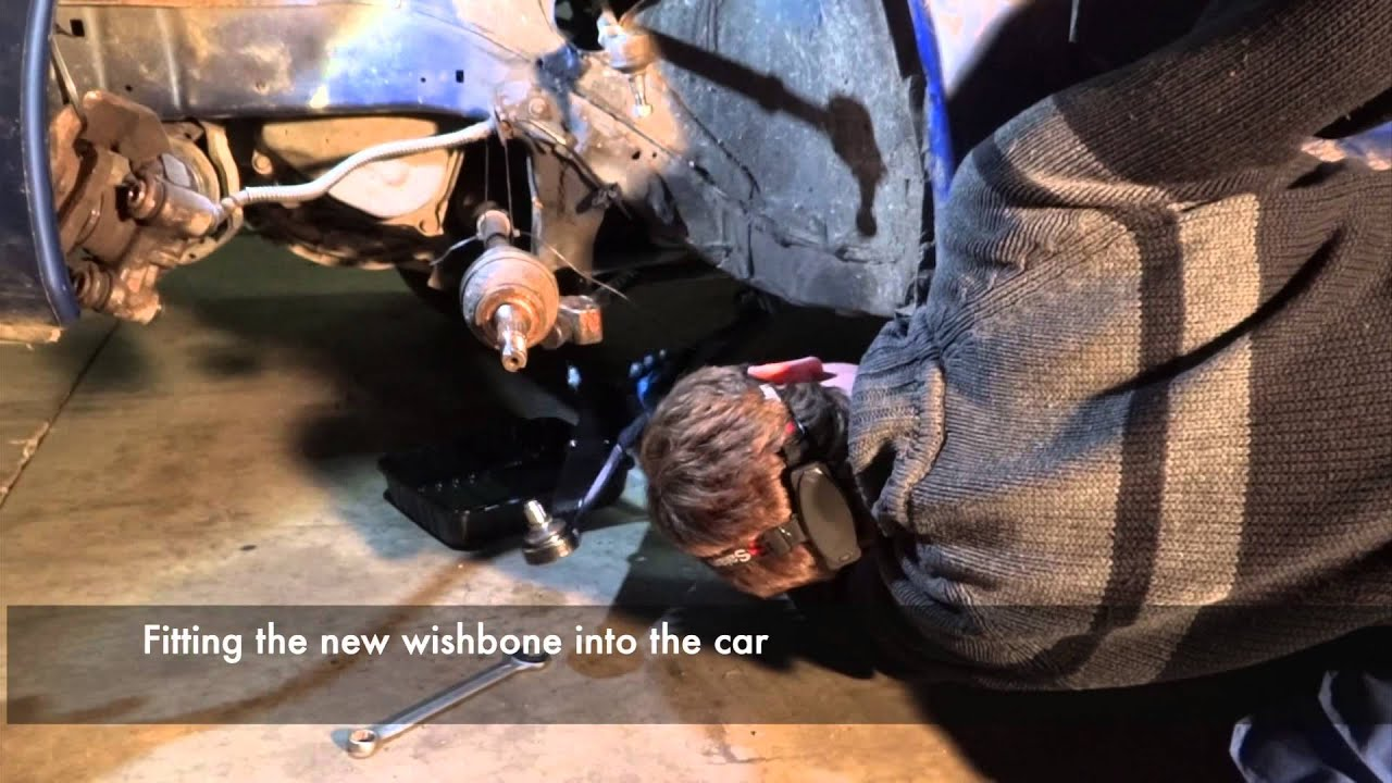 Peugeot 106 Strut Driveshaft And Wishbone Replacement