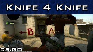 Giant Knife Battle for a Knife