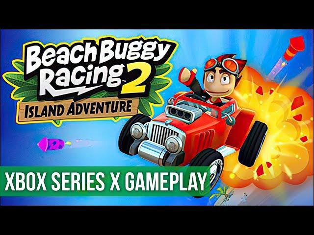 Beach Buggy Racing 2 Island Adventure - Gameplay (Xbox Series X) HD 60FPS