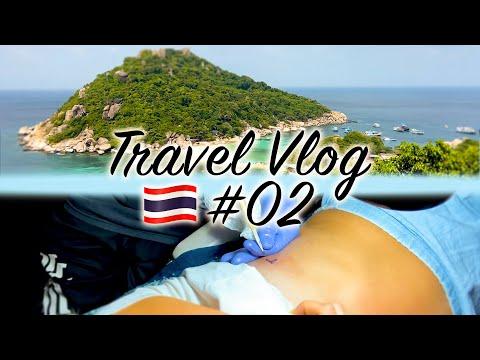 1. TATTOO In Thailand?! TRAVEL VLOG #02   Lovely LJ ♡