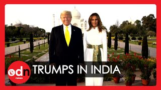 7 Awkward Moments You Missed from Donald Trump's India Tour