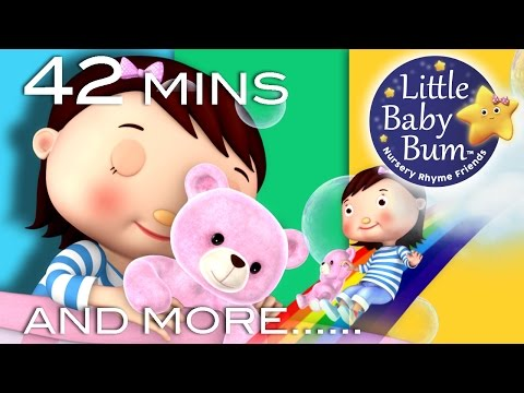 Bedtime Songs | Nursery Rhymes | 42 Minutes Compilation from LittleBabyBum!