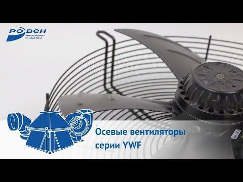 Осевые вентиляторы серии YWF