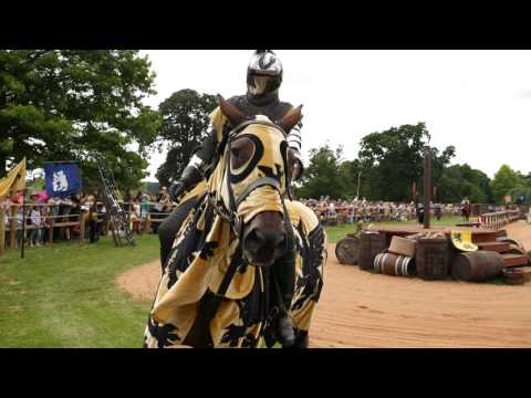 Jousting at Warwick Castle 4K