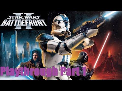 Star Wars: Battlefront II Playthrough/Walkthrough Part 1