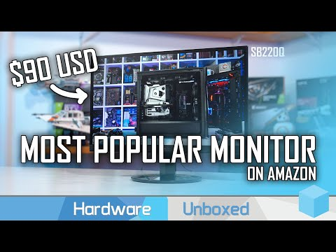 #1 Best Selling Monitor on Amazon, Acer SB220Q Review, 1080p 75Hz IPS for $90