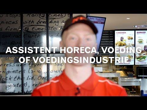 Assistent horeca, voeding of voedingsindustrie (SBB)