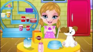 Мультфильм Игра - Малышка Барби и ее щенок