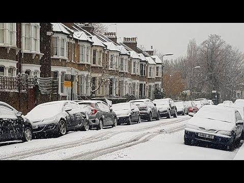 'Complete nightmare': U.K. residents wake up to big snowfall