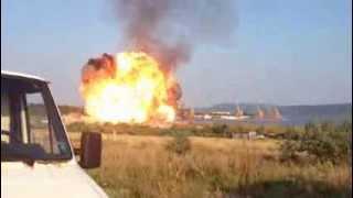 2013 08 14 Как се взриви цистерната край Езерово