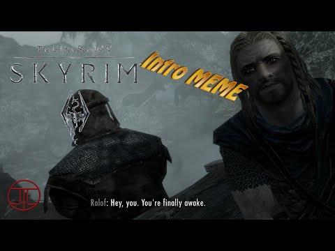 Skyrim Intro Meme Reddit - Meme Box