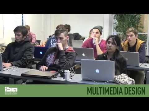 Multimedia Design at IBA International Business Academy in Kolding