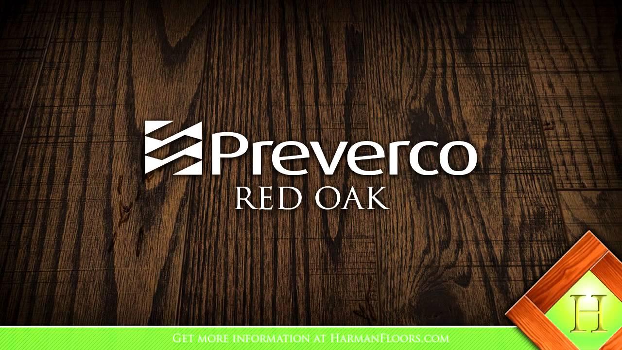 Preverco Hard Maple Red Oak Flooring Overview