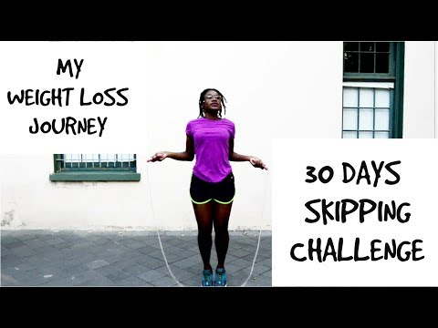 My Weight Loss Journey l 30 Day Skipping Challenge l Day 7- 2500 skips l Home Workout For Weightloss