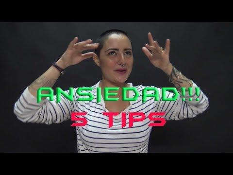 5 TIPS / CÓMO SUPERO LA ANSIEDAD / ESPAÑOL