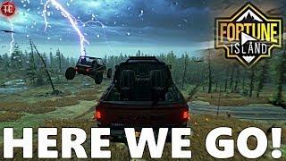 Forza Horizon 4: FORTUNE ISLAND Part 1! First Treasure Chest, NEEDLE CLIMB DRIFT ZONE, And NEW CARS