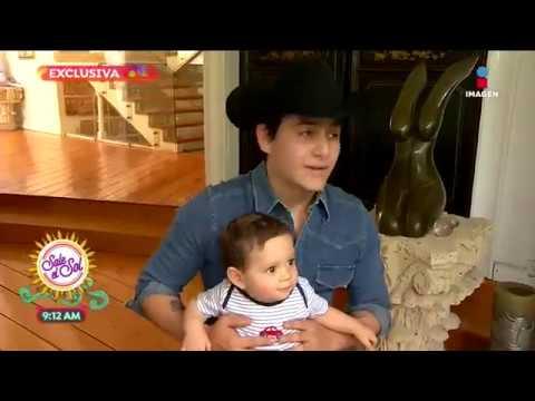 ¡Julián Figueroa nos presenta a su pequeño hijo!   Sale el Sol