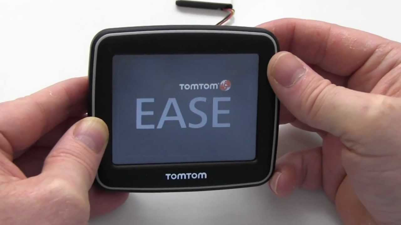 How To Replace Your TomTom EASE Battery - YouTube