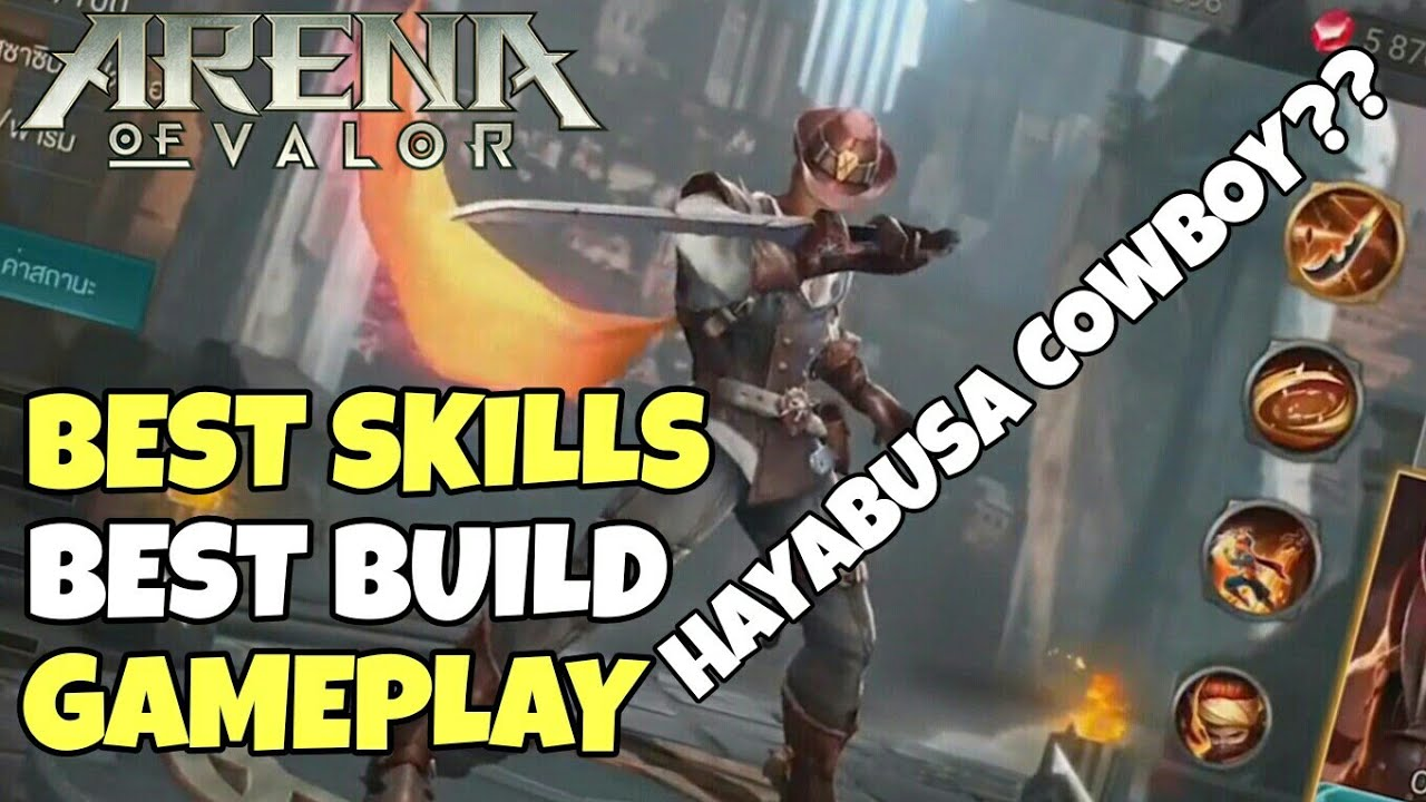 Arena Of Valor New Hero Murad Skills Build Gameplay
