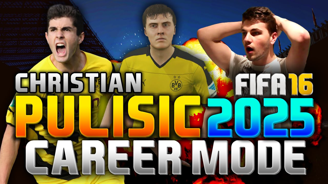 Pulisic Fifa 16
