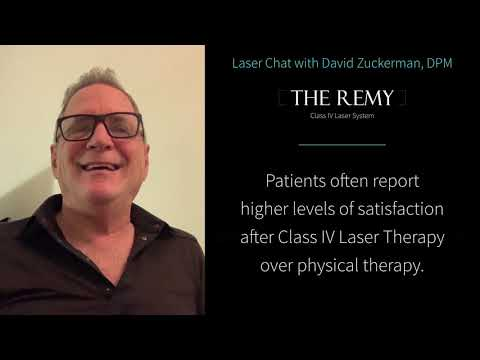 Laser Chat - Benefits of Class IV Laser Over Physical Therapy