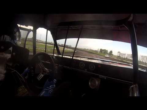 ZACH OLIVIER I-90 SPEEDWAY IN CAR JUNE 21,2014