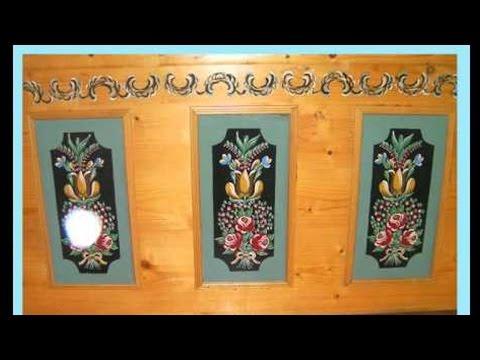 Curso Pinturas Decorativas em Madeira II - Técnica Bauermnalerei