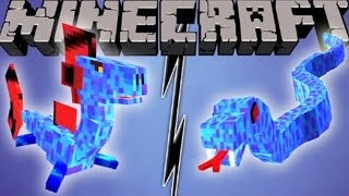 SU EJDERHASI vs SU YILANI! - Minecraft Mob Savaşları