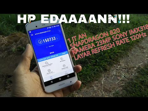 Monsternya HP sejutaan - Unboxing & Hands on Sharp aquos SHV34 indonesia