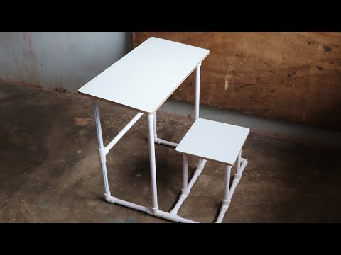 Make A Study Table For Kids Using PVC PIPE || DIY Kids Study Desk