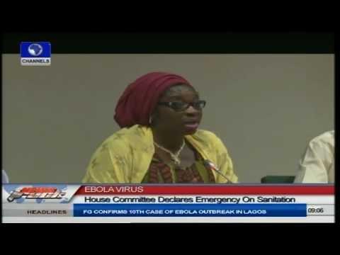 Ebola Virus: House Committee Declares Emergency On Sanitation