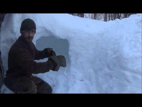 Quinzee - A Viable Survival Shelter?